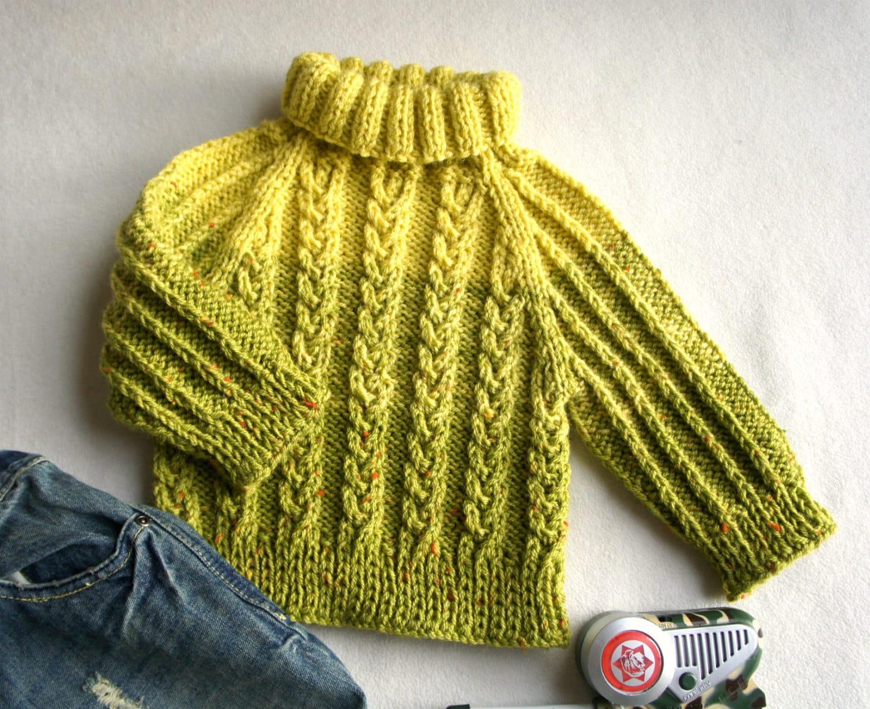baby winter pullover rollkragen hand stricken jungen. Black Bedroom Furniture Sets. Home Design Ideas