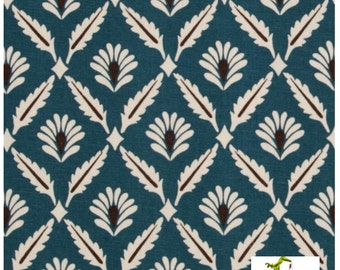SALE Upholstery Fabric Premier Prints Clover Cadet - Home Decorator Fabric - Premier Prints Fabric -  By the Half Yard