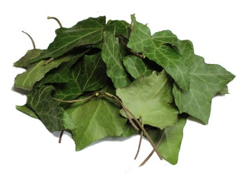 Dried Organic Ivy Leaves, 1 oz (30 g) (Hedera helix), common ivy