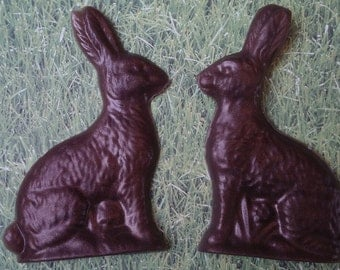 Chocolate Bunny Soap- Easter basket soap, Easter gift, Easter bunny gift