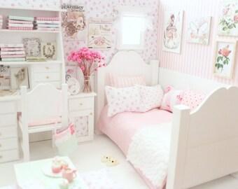 White Lightings - Doll Bedroom Diorama -Blythe/Pullip/Pukifee/Lati/Yosd/BJD/Dal