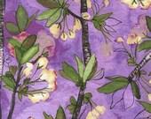 SALE Michael Miller Vignette Cherry Bloom Orchid CJ6657-ORCH-D Modern Floral