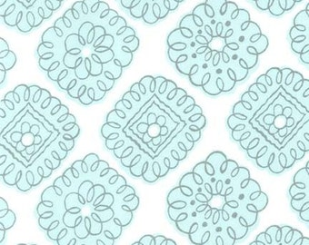 NEW PRICE! Michael Miller Whisper Collection Maybelle in Aqua (pc6697-aqua-d)