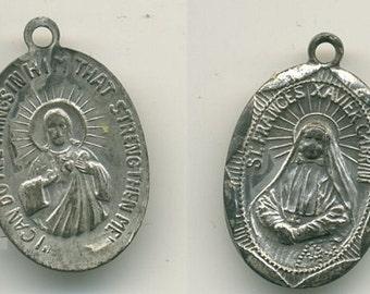 St Frances Pendant