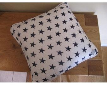 "Stars 18 "" square Cushion"