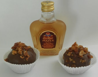 Crown Royal Maple Bacon Whiskey Balls Adults Only !!!