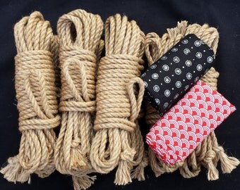 Gakusei shibari rope bondage kit