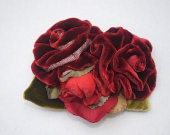 Floral  Brooche/ Fascinator