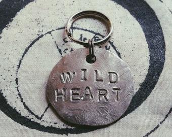 WILD HEART keychain - handmade - stevie nicks fleetwood mac lp shirt