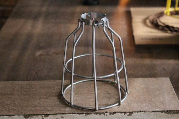 steel bulb guard clamp on lamp cage safety by libertyelectric. Black Bedroom Furniture Sets. Home Design Ideas