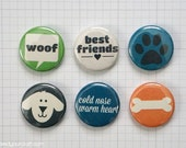 Dog's Life Mini Flair Badges