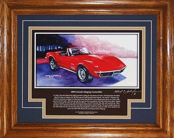 1969 Corvette with History