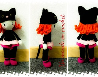 Cathy Cat doll