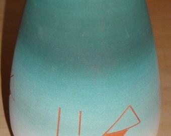 Southwestern Vase/ Signed