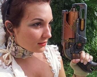 Steampunk Victorian Revolver Gun costume weapon cosplay pistol