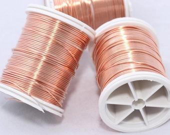 18 Gauge Copper Artistic Wire - Non Tarnish Copper Wire - Craft Wrapping Wire - 17 Feet - Bulk , WR4