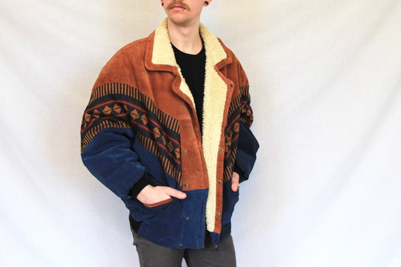 Native american leather jacket