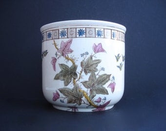 1880s Vintage Planter Vintage Home Decor Vintage Pink Planter