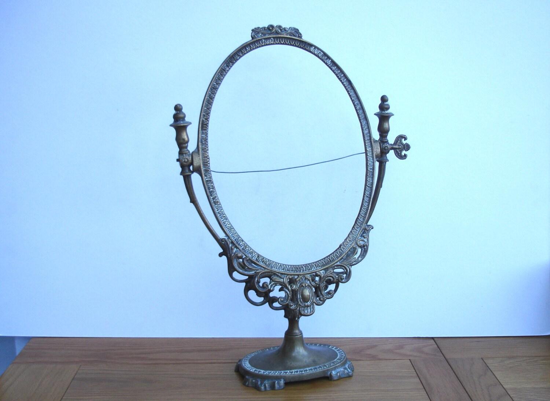 1930s art deco stand up mirror frame pedestal mirror frame for Stand up mirror