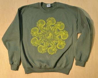SALE Whiplash Skulls Sweatshirt