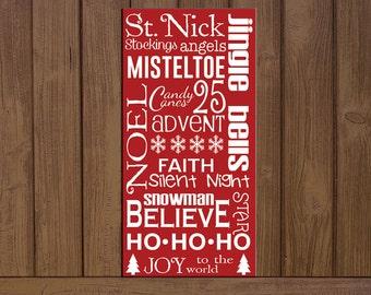 Christmas sayings Board