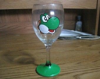 Yoshi wine glass