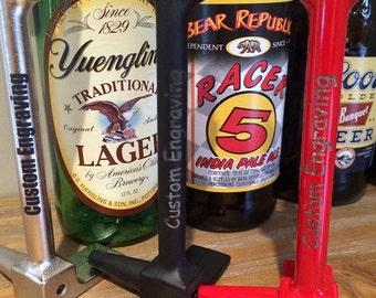 Custom Engraved Halligan Bottle Opener