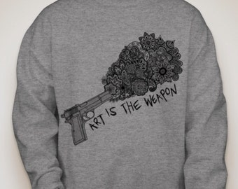My Chemical Romance Art is the Weapon Sweater
