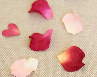 Paper Rose Petals - Handcrafted from Eco-friendly paper