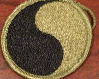 Vietnam 29th Infantry Division Patch