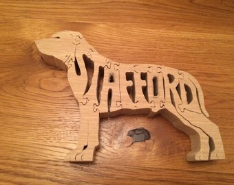 Staffie Oak Puzzle