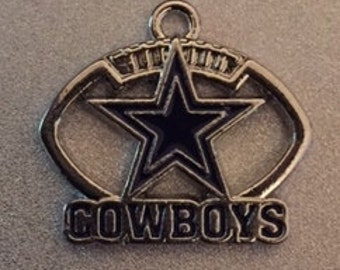 Dallas Cowboys Football Charms