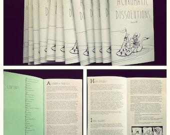 Achromatic Dissolutions (zine)