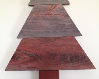 Barnwood Decorative Christmas Tree