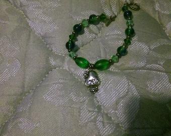 handmade skull bracelet