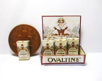 vintage shop counter display  ovaltine