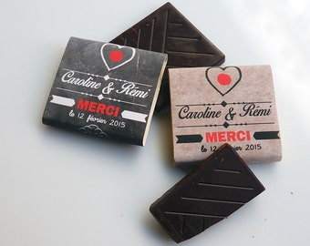 Neapolitan custom (mini-chocolat)