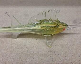 Fumed Sword Fish Pipe