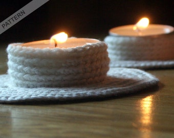 Candle Holder Crochet Pattern