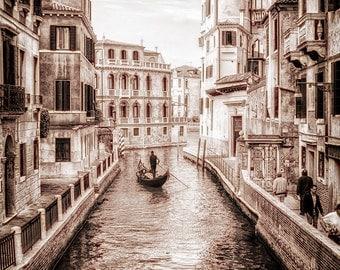 Venice, Italy. Photographic print 8x10, 11x14