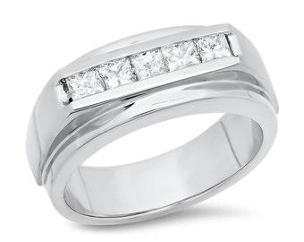 Mens Diamond Ring .85 ct. tw.