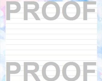 Printable Agenda - Call Notes
