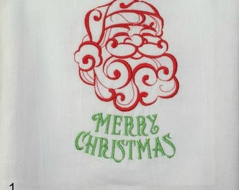 Holiday Dish Towels (Embroidered)
