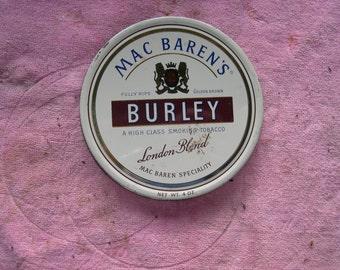 Mac Barrens Tobacco Tin