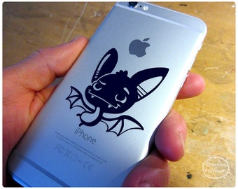 Darling little bat vinyl decal to keep you company