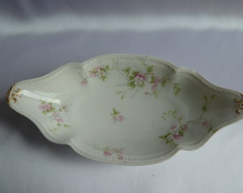 CH Field Haviland Limoges GDA France small  relish dish