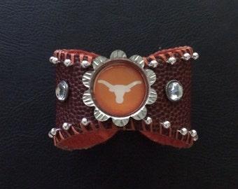 Texas Longhorn Wrist Cuff