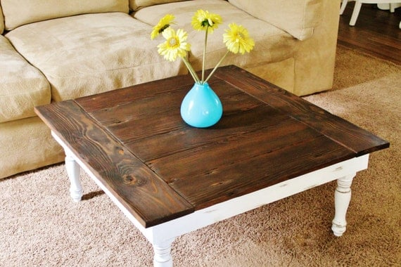 Reclaimed Wood Coffee Table Rustic Coffee By Silverridgewoodworks