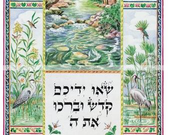 Judaica,Art,Lift up your hands