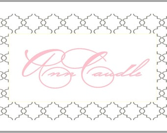 Enclosure Cards - Set of 20 - Personalized